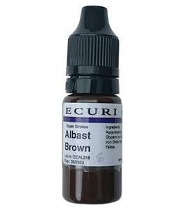albast brown pigment microblading