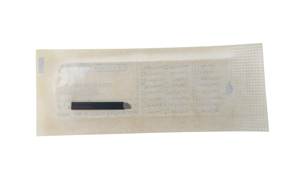 14 Pin Slant Microblading Needles